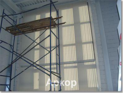 жалюзи на окна вертикальные тканевые